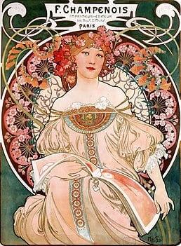 art nouveau sanat eserleri