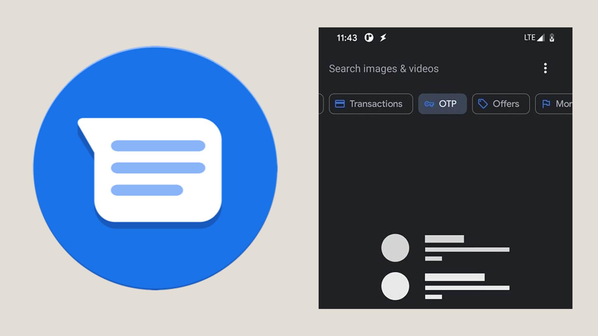 google mesajlar ve messenger