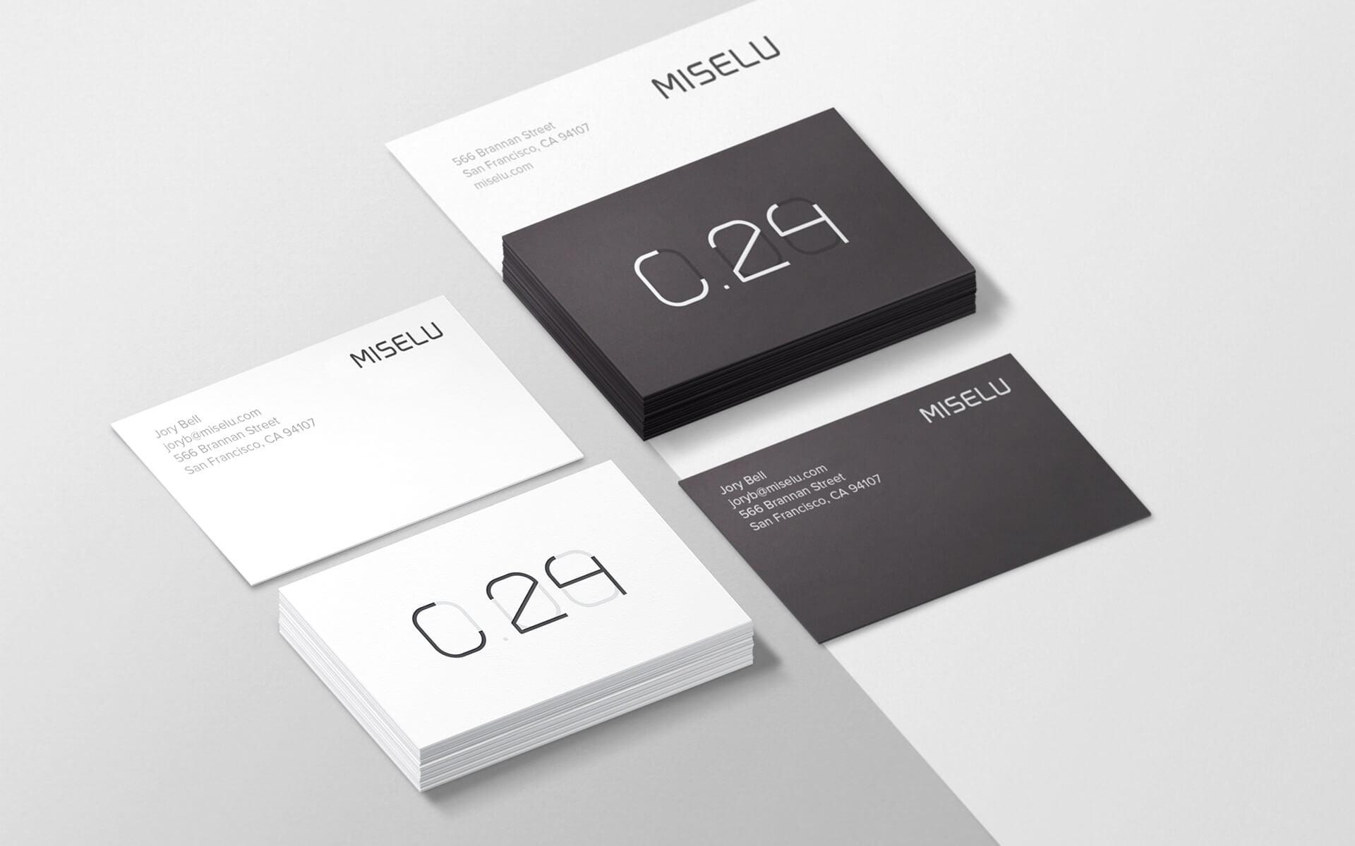 minimalist kartvizit tasarimi
