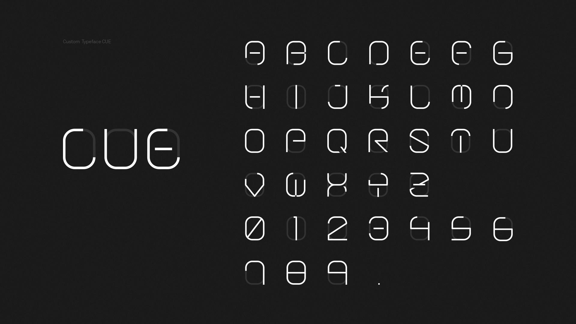 minimalist yazi karakteri tasarimi