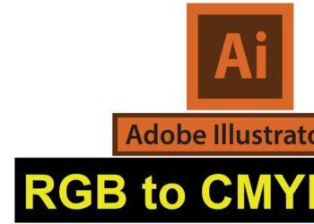 Adobe Illustrator CMYK RGB Renk Cevirme