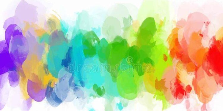 Adobe Illustrator Renkli Suluboya Fircasi Olusturma