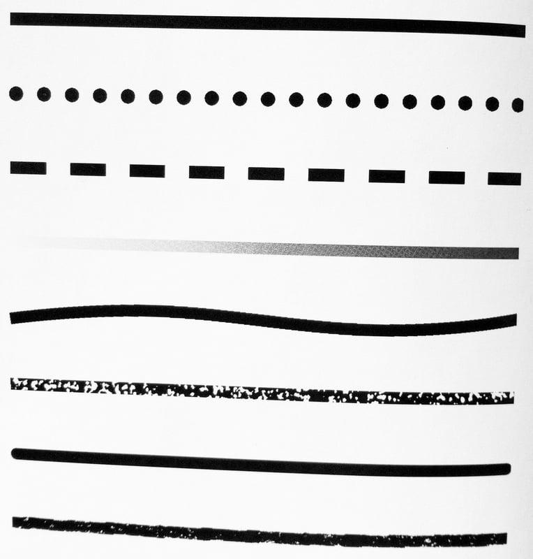 grafik tasarim elemanlari cizgi