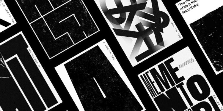 Tipografik Afis Tasarimi Fikirleri 1